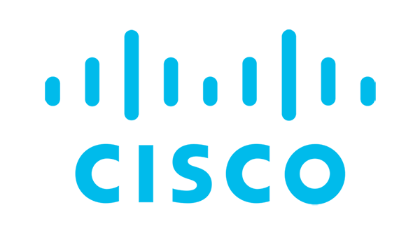 Cisco Logo - Cyan blue sans-serif text
