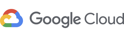 Google Cloud Logo - Dark gray sans-serif type with red, blue, green, and yellow cloud icon