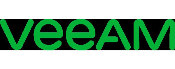 Veeam Logo - Green sans-serif type