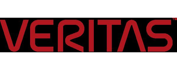 Veritas Logo - Red sans-serif type